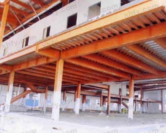 北京彩钢网提供生产平面式钢架厂家