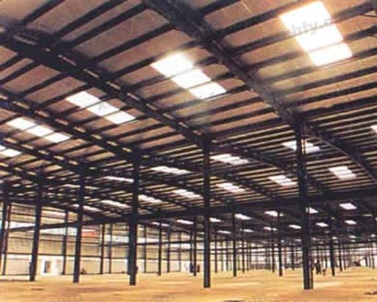 北京彩钢网提供生产香河钢架厂家
