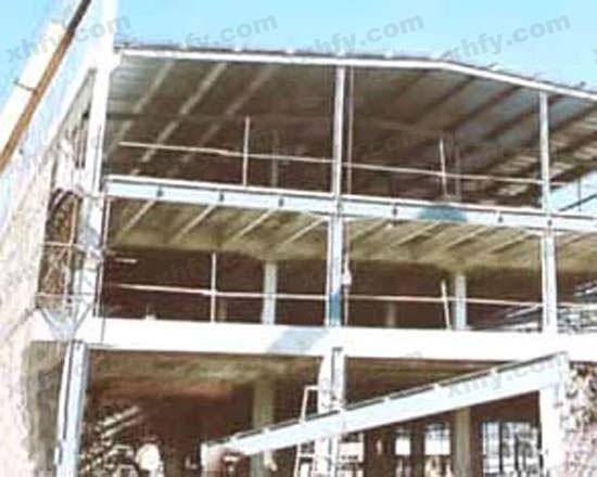 北京彩钢网提供生产复杂钢架图片厂家