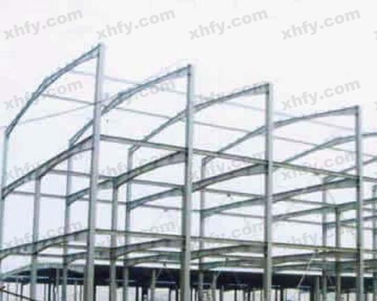 北京彩钢网提供生产整体钢架示意图厂家