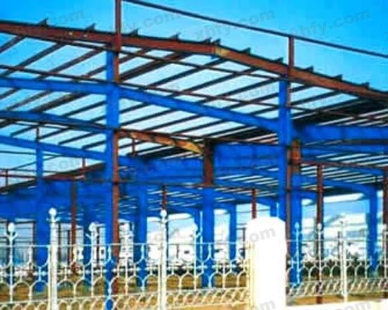 北京彩钢网提供生产钢架厂家