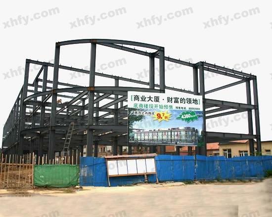 北京彩钢网提供生产简洁式钢架厂家