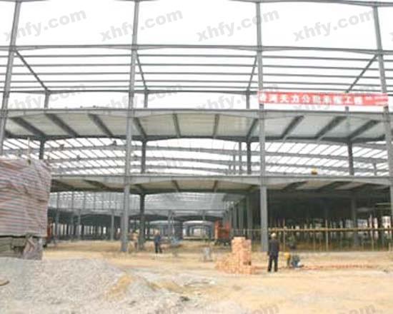 北京彩钢网提供生产钢架结构图厂家